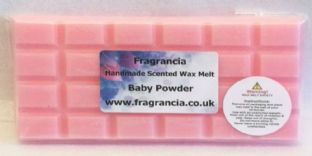 85 gram Highly Scented Wax Melt bar (BABY POWDER)